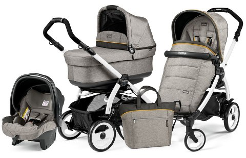 BOOK 51 POP-UP COMPLETO MODULAR 3w1 Peg Perego - luxe grey