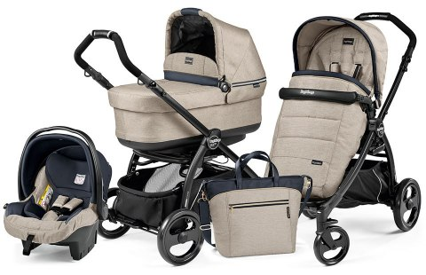 BOOK PLUS POP-UP COMPLETO MODULAR 3w1 Peg Perego - luxe beige