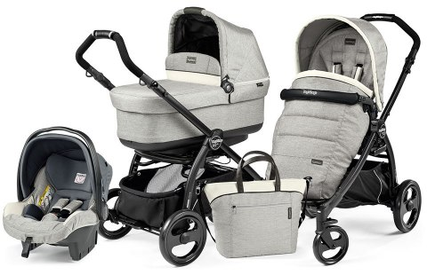 BOOK PLUS POP-UP COMPLETO MODULAR 3w1 Peg Perego - luxe opal