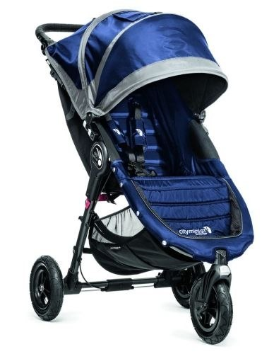 Baby Jogger City Mini GT 3w1 z CABRIO FIX Maxi-Cosi cobalt/grey