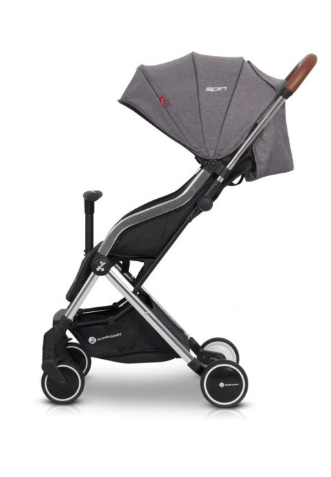 SPIN WÓZEK SPACEROWY 5,9 KG EURO-CART anthracite