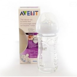 PHILIPS AVENT     BUTELKA   NATURAL SZKLANA 240ML