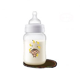 PHILIPS AVENT     BUTELKA CLASIC+260ML MONKEY