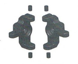 Steering knuckle arm 2 pcs - 10395