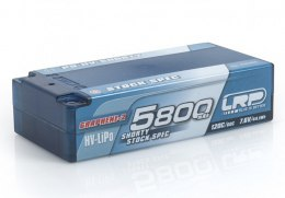 LiPo 5800mAh 7.6V 120C/60C hardCase P5-HV Shorty Stock Spec Graphene 2