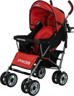 SPACER Classic CARETERO WÓZEK SPACEROWY red