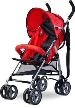 Caretero Alfa wózek spacerowy waga 5,3kg red