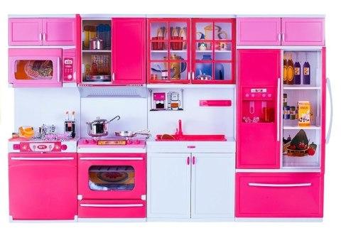Leantoys Zabawkowa Kuchnia Z Wieloma Akcesoriami Gra świeci