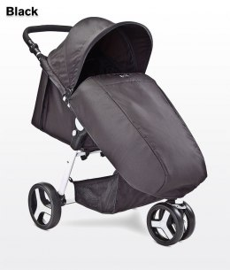 FRII Caretero Wózek spacerowy 8,2 kg Black