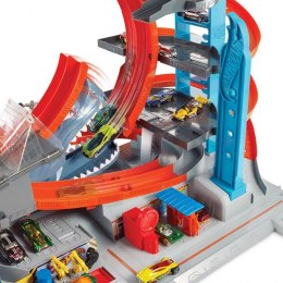 Hot Wheels City Mega Garaż Rekina