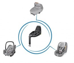 3wayFix Maxi-Cosi baza IsoFix i-Size do Jade, Pebble Plus, Rock, Pearl For i-Size, Pearl Smart