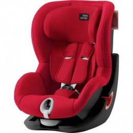 BRITAX & ROMER FOTELIK KING II (FIRE RED - BLACK SERIES)
