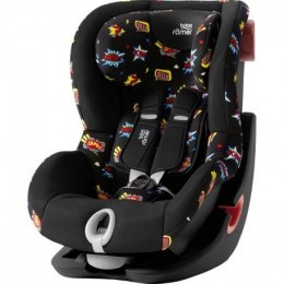 BRITAX & ROMER FOTELIK KING II (COMIC FUN - BLACK SERIES)