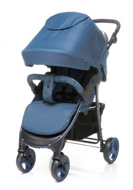 RAPID UNIQUE 2019 4Baby wózek spacerowy waga 9,9 kg - Blue