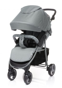 RAPID UNIQUE 2019 4Baby wózek spacerowy waga 9,9 kg - Grey
