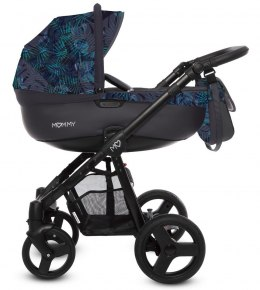 MOMMY SUMMER 2w1 BabyActive wózek głęboko-spacerowy - NIGHT PARADISE 12