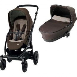 Stella 2w1 głęboko-spacerowy wózek Maxi-Cosi earth brown