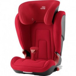 BRITAX & ROMER FOTELIK KIDFIX2 R FIRE - RED ( BLACK SERIES )