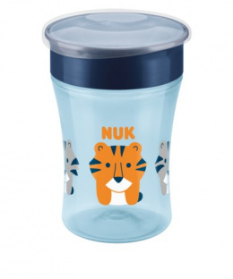 NUK EVOLUTION Magic Cup Kubek niekapek 8m+ 230ml - NIEBIESKI