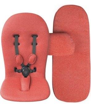 wózki dziecięce - Uzupełniający zestaw startowy do wózka mima Xari - Coral Red
